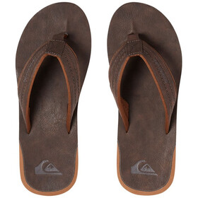 Quiksilver Carver Nubuck - Sandales Homme - orange/marron